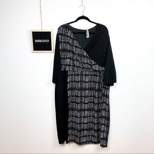 Formal Pennington's Plus Size Mid Length Dress